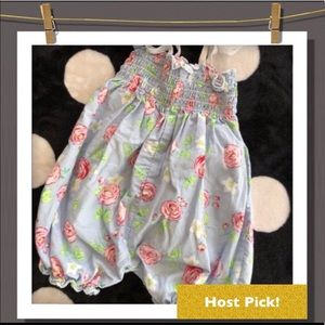 Other - 🆑 Floral baby romper 6 months